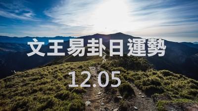 文王易卦【1205日運勢】求卦解先機