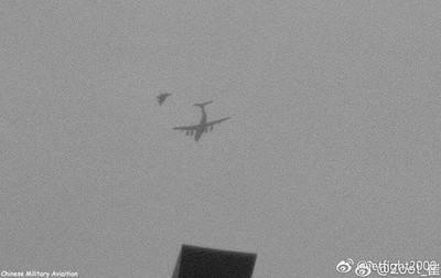殲-20空中加油 作戰範圍擴台、南海