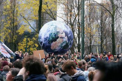 比利時6萬5千人上街對抗氣候變遷