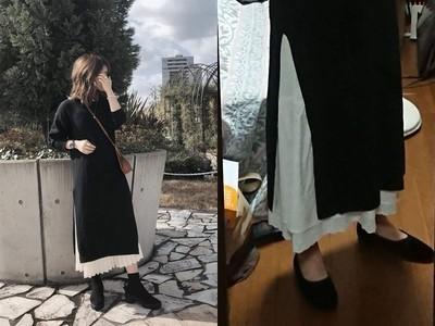 穿搭悲劇!冬季最夯針織長裙...搭錯鞋容我叫一聲「葉師傅」