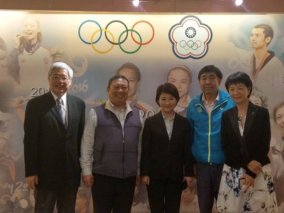 盧秀燕拜會中華奧會 盼復辦東亞青運