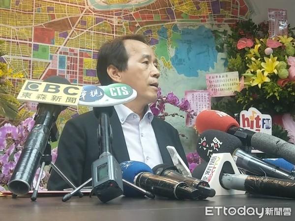 ▲台北市副市長林欽榮。(圖/記者蔣婕妤攝)