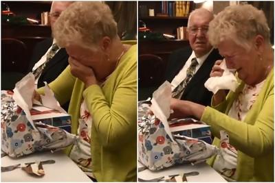 奶奶80歲生日收到Switch秒落淚