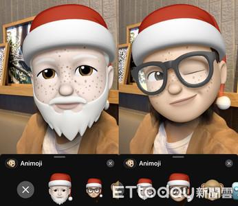 聖誕節要到了 用Memoji戴上聖誕帽送祝福吧