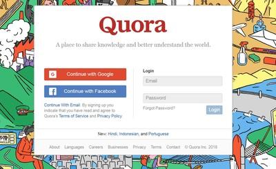 Quora遭駭客入侵!1億用戶個資裸奔