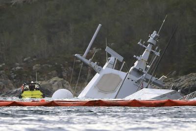 挪威神盾艦沉沒報告:艦員誤認油輪是陸地