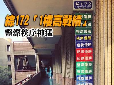 綜172「1樓高戰績」整潔秩序神猛