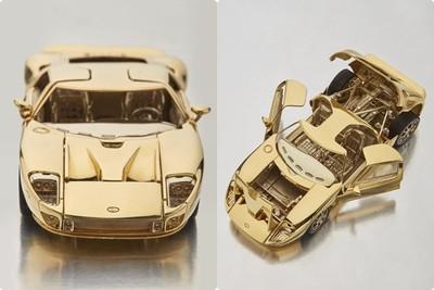 純金福特GT跑車模型拍賣價230萬