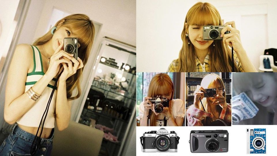 BLACKPINK Lisa爱用5款相机曝光 轻便小巧+唯美滤镜适合女孩入手