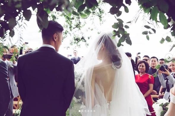 ▲余文樂、王棠云結婚1周年。(圖/翻攝自IG/王棠云)