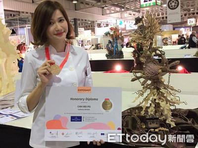 美女烘焙大師奪第六面世界金牌