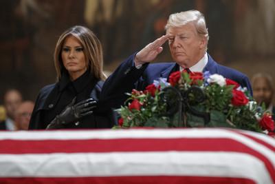訂全美悼念日 各國政要出席國葬