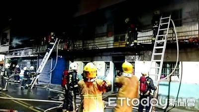 嘉義木造平房凌晨傳火警 20車70人搶救
