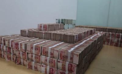 3.5億元疊成現金牆 櫃內放到發霉