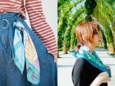 花博領巾領帶蘊藏臺中之美