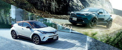 TOYOTA C-HR日本推雙色特仕車