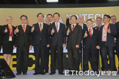 金融科技展登場 顧立雄:盼Fintech Taipei能成為國際平台