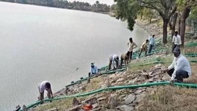 愛滋女跳湖自殺「屍屑水面漂」 村民抽乾整座湖不敢用:會傳染