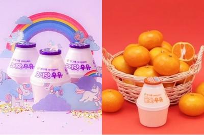 Binggrae推全新風味-柑橘牛奶