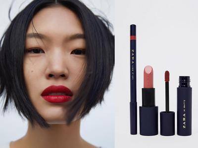Zara跨界美妝推出400元唇膏