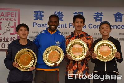 台北馬邁銅標起跑舉牌倒數、首創冷池