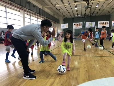 淡水足球體驗日國腳溫智豪任大使