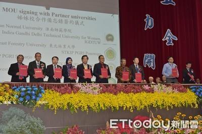 屏東大學校慶 57所姊妹校到場祝賀