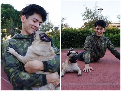 林柏宏4張運動照「太圈粉」引暴動:想當狗