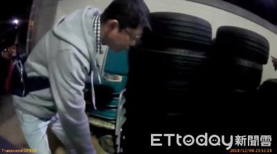 輪胎行被偷96條輪胎 笨賊上網拍賣