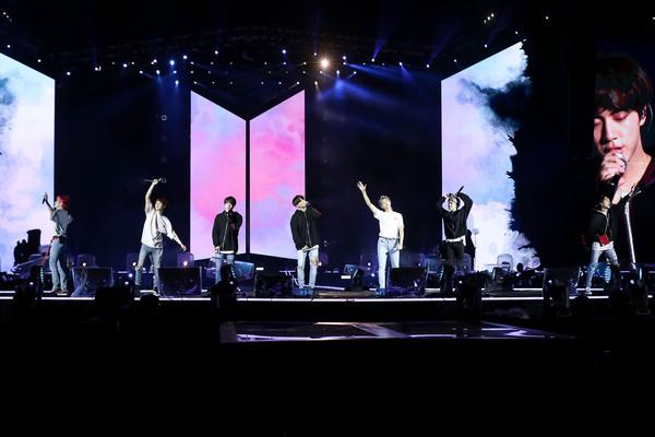 ▲▼BTS防彈少年團《Love Yourself》演唱會桃園場。(圖/Live Nation Taiwan提供)