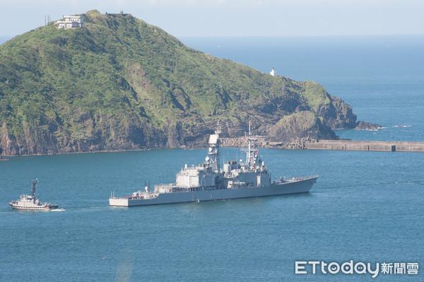 DDG-1801,基隆號驅逐艦,基隆級驅逐艦,中華民國海軍,紀德級驅逐艦(圖/記者季相儒攝)