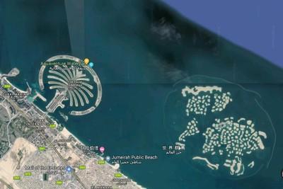 花3千億!杜拜世界群島成爛尾工程