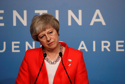 脫歐若遭否決 梅伊:英續留歐盟