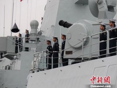 陸第31批護航編隊啟航赴亞丁灣