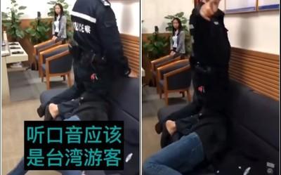 23歲女遭深圳警施暴 膝蓋鎖喉達60秒