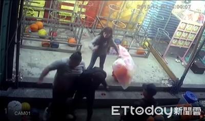 攤商爆債務糾紛 遭3惡煞痛毆