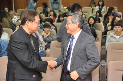 科幻小說之父 張系國任清大榮譽講座教授