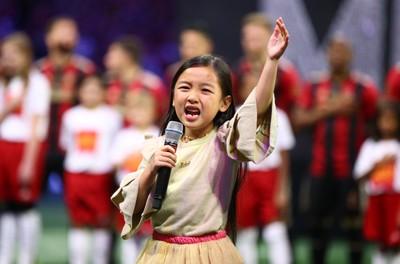 印尼裔女童嗓音征服全美