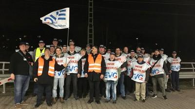 德國鐵路工會4小時大罷工