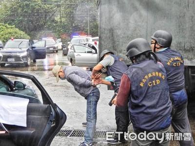 金山警防搶演練超逼真 民眾看傻眼