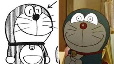 哆啦A夢「溫暖眼神」差很大!當年漫畫癡呆軟萌...如今變恐怖連結