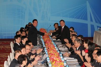 大三通10周年 簽署協議的江丙坤來不及見證