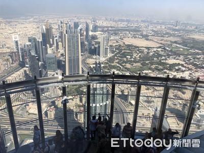 世界最高塔!148層眺望杜拜沙漠