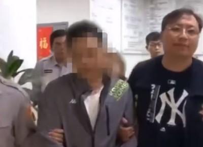 父母揹18條通緝被捕 7歲兒大哭