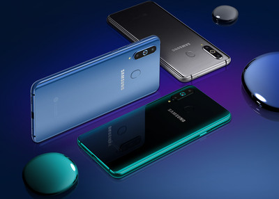 螢幕上有洞!三星中階機款Galaxy A8s正式亮相