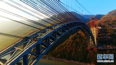 像彩虹!世界最大跨度鐵路在雲南