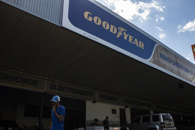 委國經濟蕭條 固特異工廠將停止營運