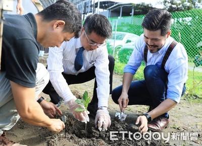 宜市智慧農場 打造「英式花園」