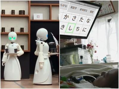 「機器人咖啡廳」送餐結帳都OK 全靠癱瘓在床的漸凍人用眼球遙控
