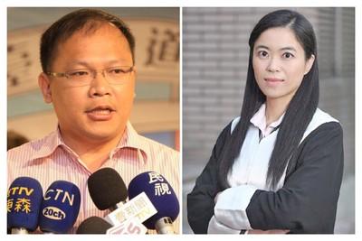 民進黨台北徵召小燈泡律師吳君婷 台中王義川出征